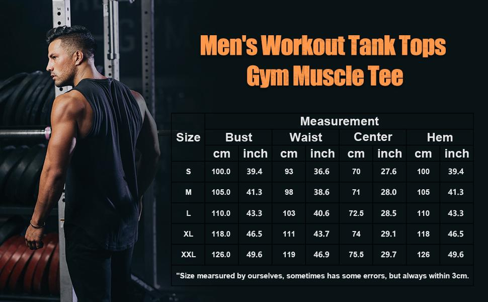 Men's 3 Pack Workout Tank Tops Athletic Gym Sleeveless Shirt
