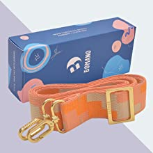Gift package bag strap