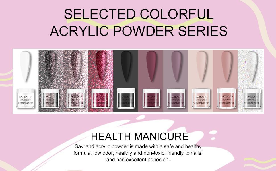 acrylic powder and liquid