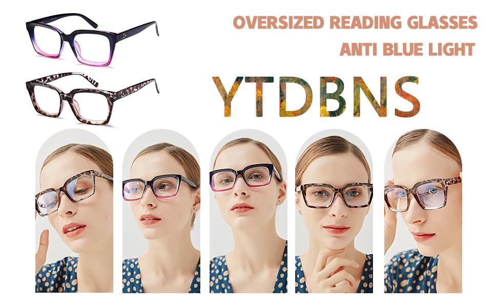 OVERSIZED READING GLASSES