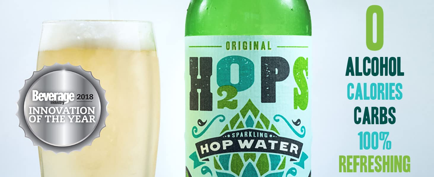 H2OPS Beverage Innovation Award 0 Alcohol 0 Calories