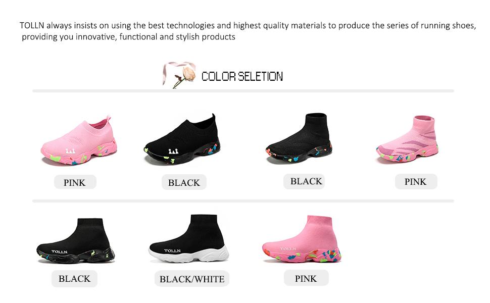 socks shoes color seletion