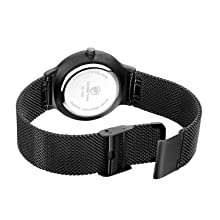 Mesh stainless steel strap watch