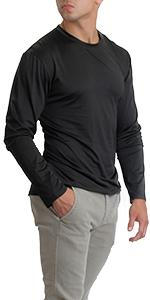 mens dryfit crew long sleeve