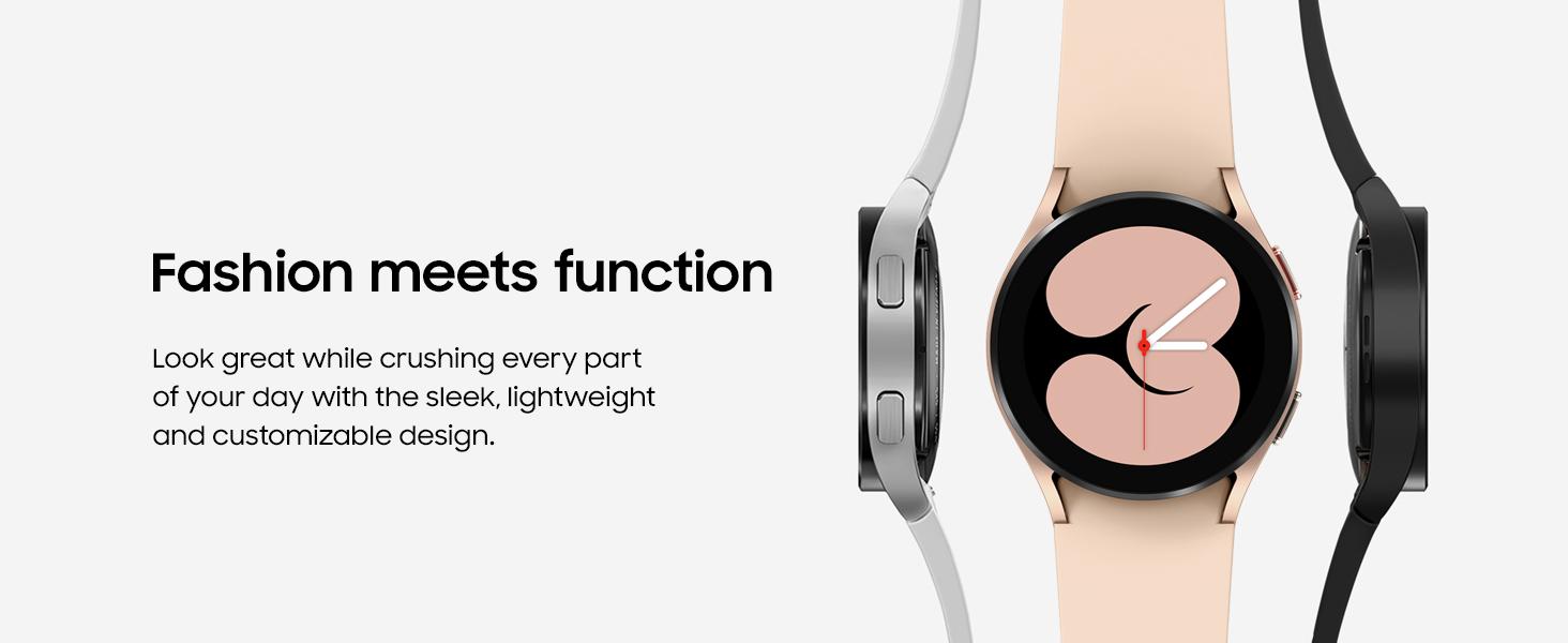Galaxy Watch4 Sleek and Lightweight Design