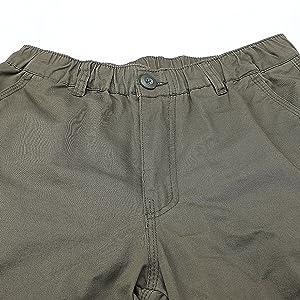 3/4 Pants Men Cargo Shorts for Men Elastic Waist Capri Shorts Capris Cotton Long Shorts for Men