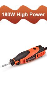 GOXAWEE electric chainsaw sharpener tool kit for fast and even grinding