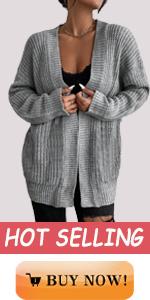 women loose long thick chunky knit cardigan jacket