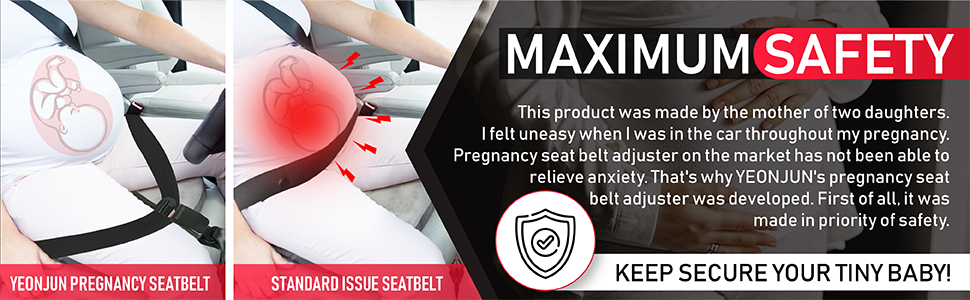 maternity seat belt