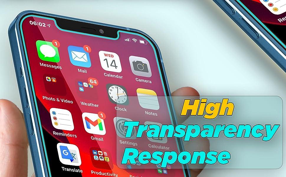 High transparency,  High-response