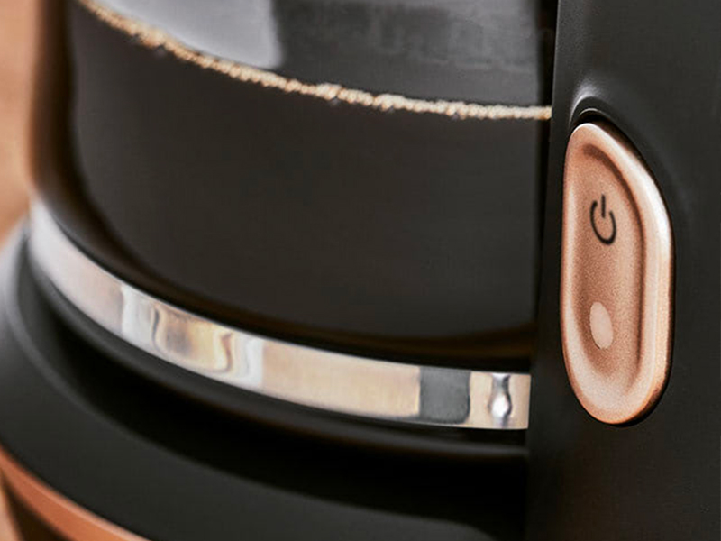 L'utilisation de cette cafetière électrique est facilitée par un design optimisé