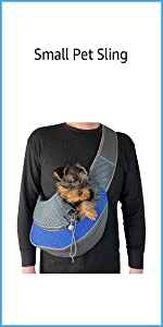 Small Pet Carrying Shoulder Sling