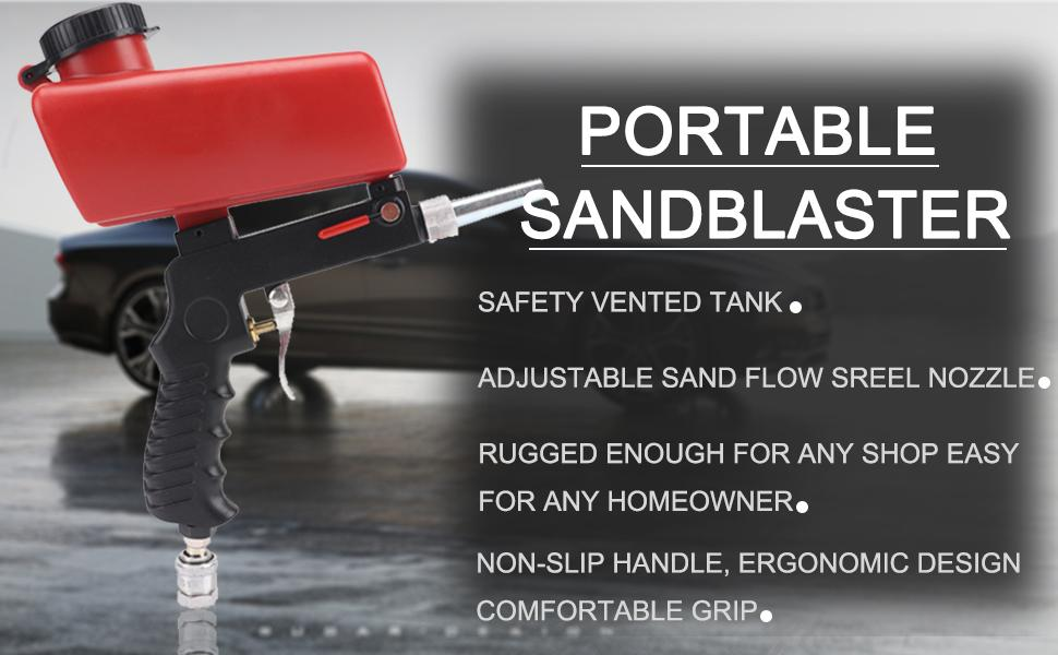 Sand Blaster Gun Kit