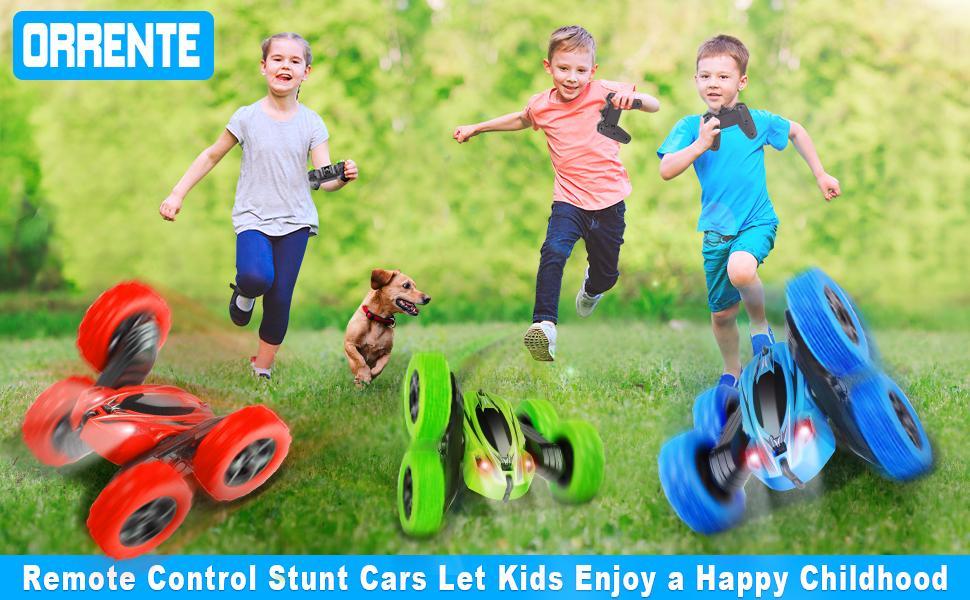 Remote Control Stunt Cars Let Kids Enjoy a Happy Childhood.