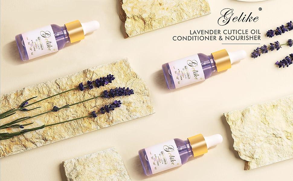 Lavender cuticle nail oil