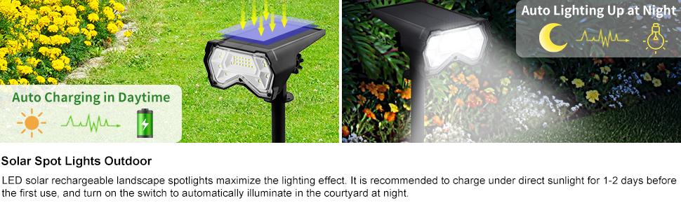 Solar Spot Lights Outdoor