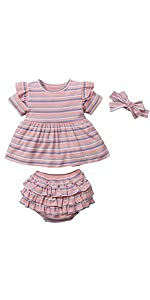 baby striped outfit