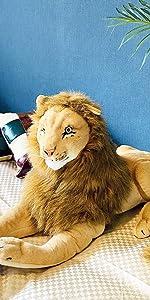伊豆シャボテン本舗 ライオン 特大ぬいぐるみ 大きい 動物 抱き枕 リアル インテリア