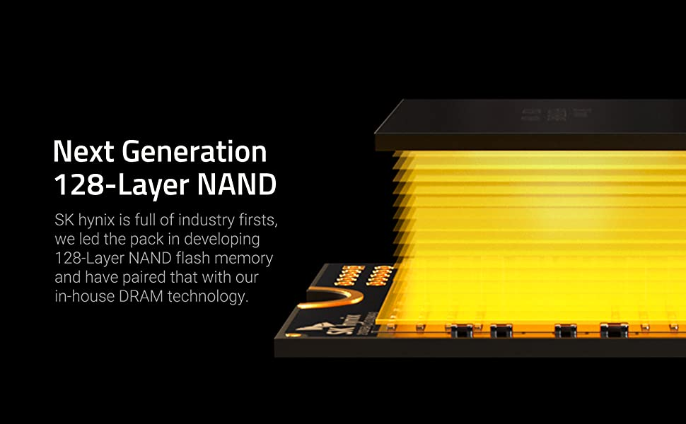 Gold P31 SSD with 128-layer NAND technology