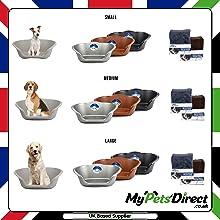 Plastic Dogs Beds S,M,L