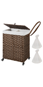 laundry hamper with lids and wheels hamper for laundry