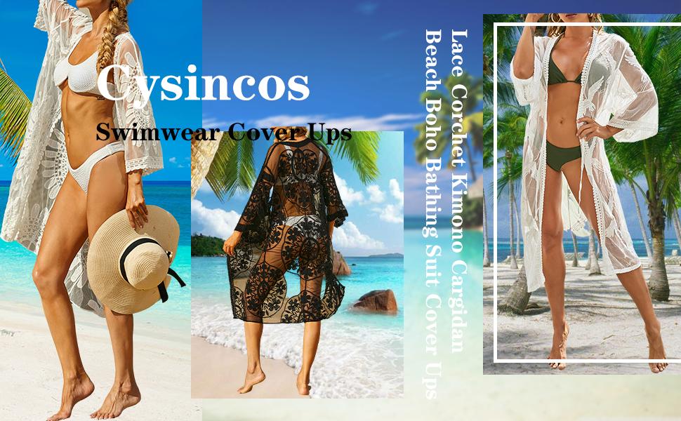 Cysincos Womens Swimwear Cover Ups