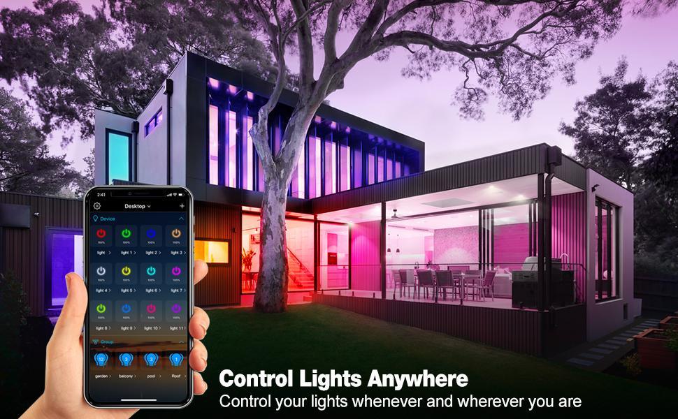 Alexa WiFi smart light bulb