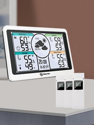 Geevon 208664 wireless weather station