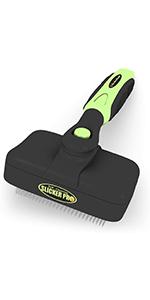 Self-Cleaning Slicker Brush