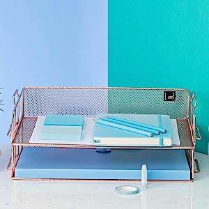 mesh organizer desk accessories