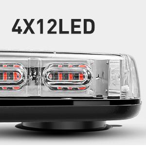 Nilight 48LED Roof Top Strobe lights