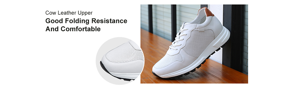 white leather shoes for men