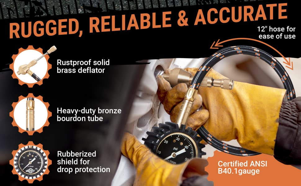 Rugged, Reliable & Accurate