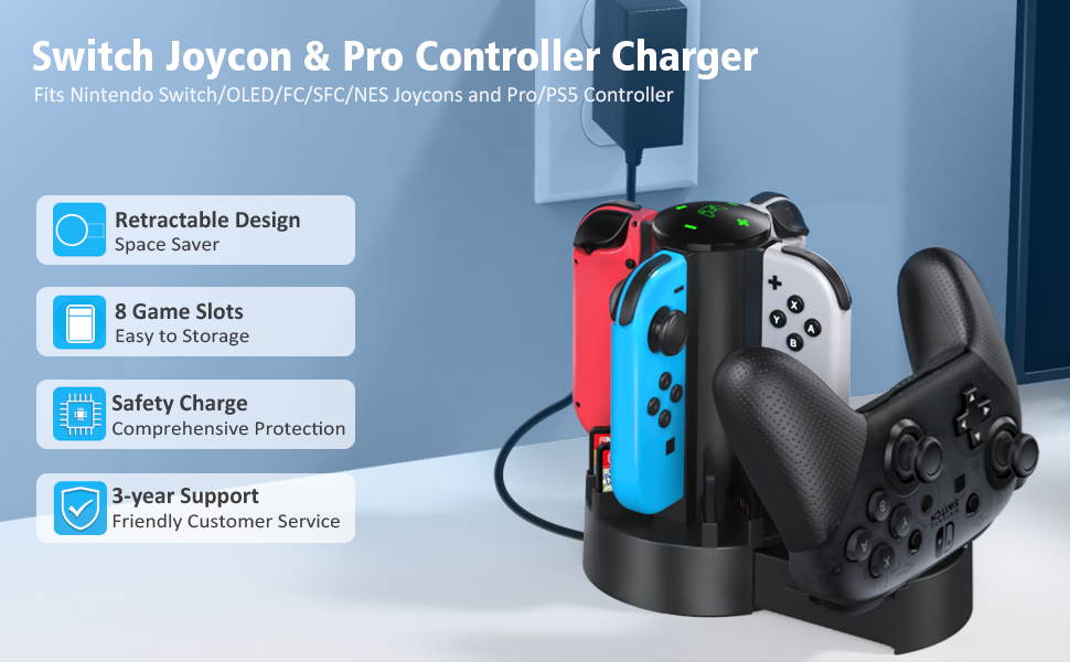 Switch Controller Charger Dock