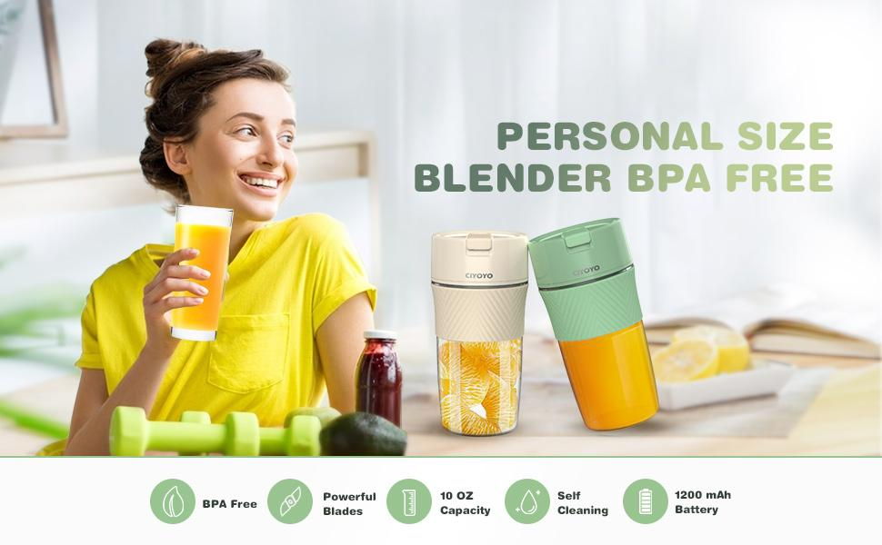 personal size juicer cup portable juicer cup for travel blender portable personal blender