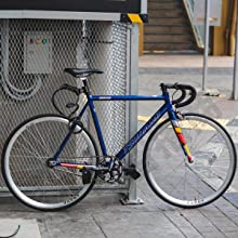 Bicycle code lock