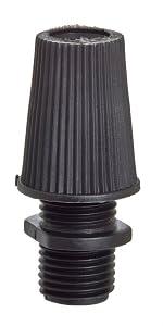 50pk Black Strain Reliefs / Cord Grips