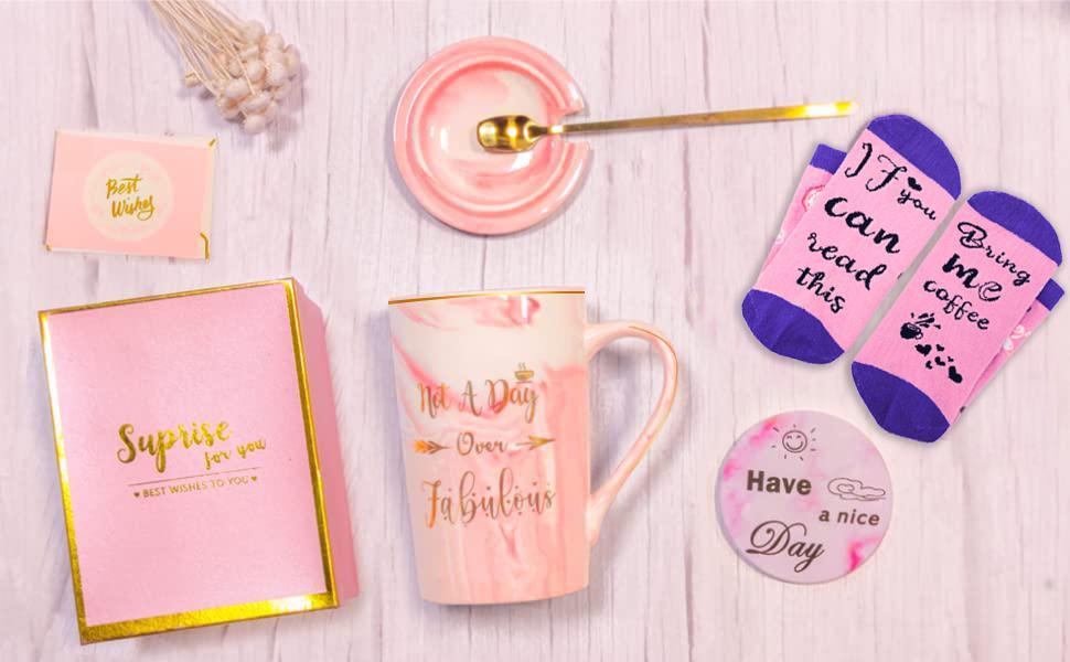 not a day over fabulous mug for women