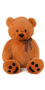 40 inch brown teddy bear