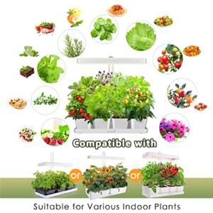 Suitable for growing various herbs, vegetables, flowers and fruits