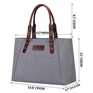 Dimension of handbag