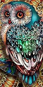 diamond painting owl