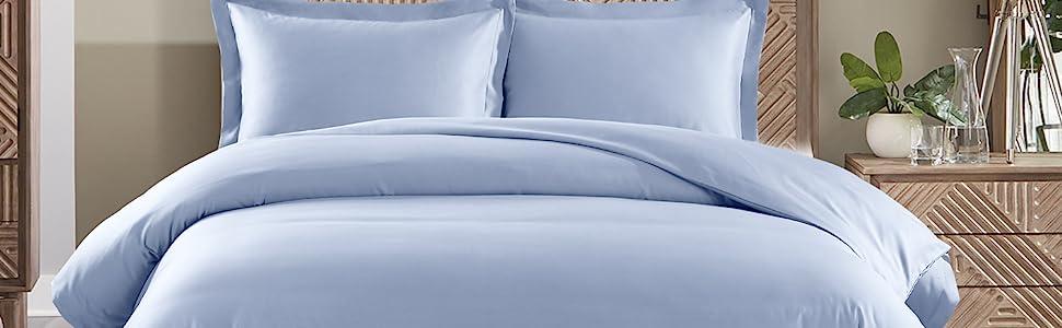 650tc cotton blend duvet cover