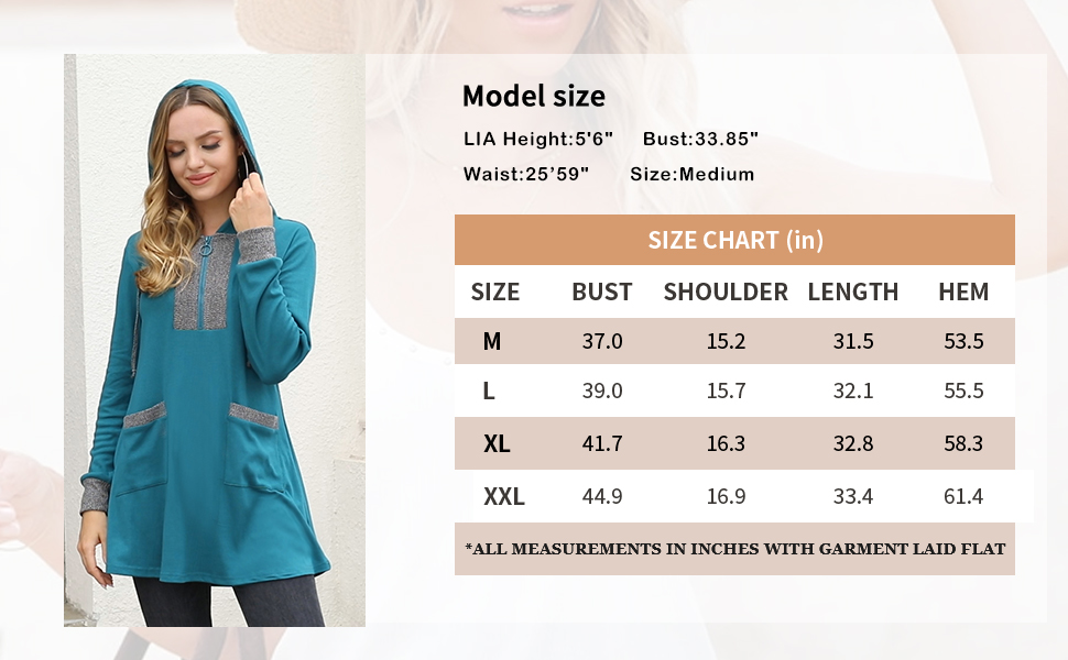 ladies long tops to wear with leggings pullover tunic sweatshirt for women