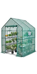 Big greenhouse with window