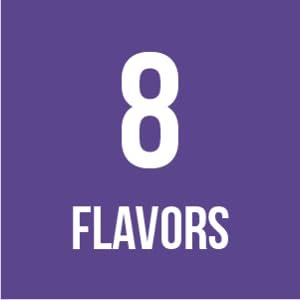 8 Flavors