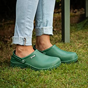 Womens ladies garden clogs lightweight waterproof gardening shoes comfortable premium shoe