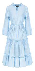 Girls Long Sleeve Maxi Dress