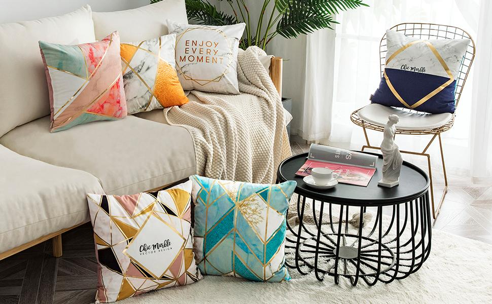 sofa pillowcase is an ideal gift to your friends for their party, it's practical and beautiful