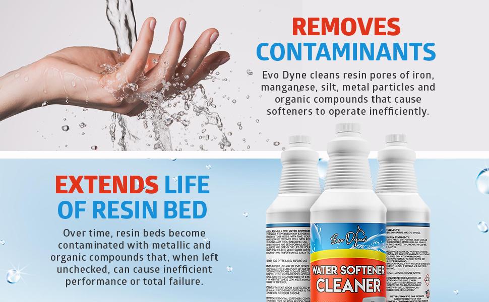 water softener resin cleaner
